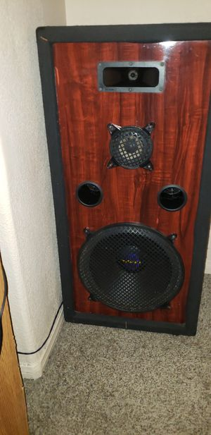 15 inch Pro audio dj speaker for Sale in Menifee, CA