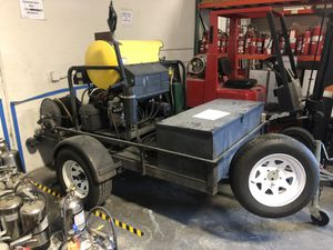 Landa Commercial Power Pressure Washer w/ Trailer for Sale in Portland, OR