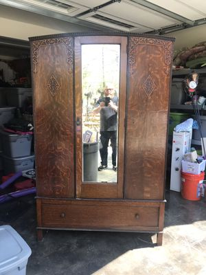 Antique British Armoire for Sale in Atlanta, GA