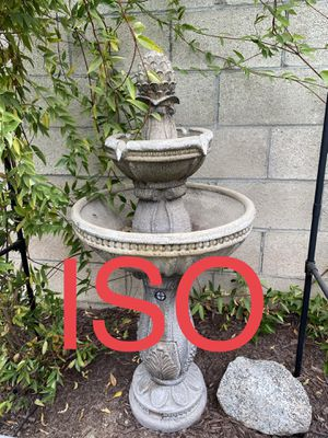 ISO - Bernini Resin Outdoor Fountain for Sale in Upland, CA