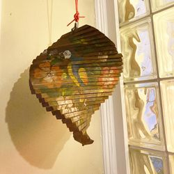 Wood spinner decorative hanging piece for Sale in Homestead,  PA