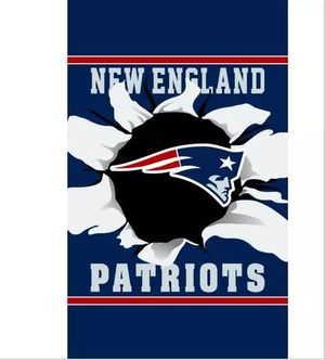 New England Patriots Vertical Flag Banner New 3x5 Ft F14 for Sale in Waxahachie, TX
