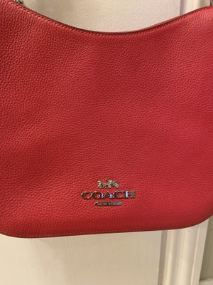 Red Coach Handbag for Sale in San Jose, CA