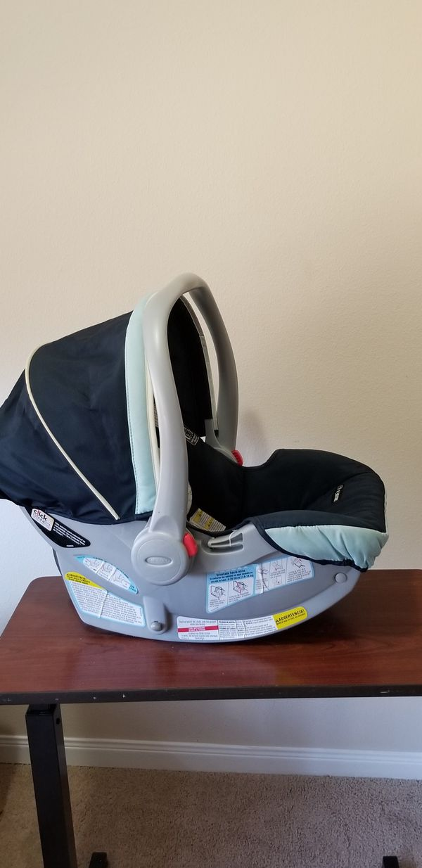 Graco baby Car seat, seat base with Stroller