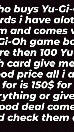 Yu-Gi-Oh Cards For Sell for Sale in Ontario,  CA