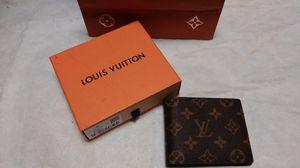 Authentic louis vuitton brown monogram wallet for Sale in Paterson, NJ