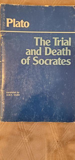 Plato The Trial and Death of Socrates for Sale in La Habra, CA