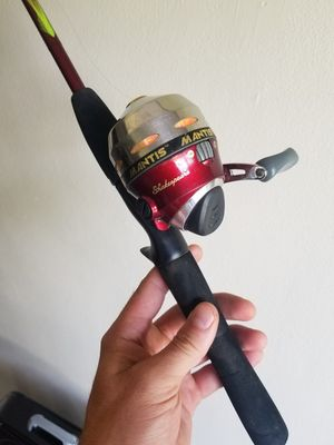 Mantis Shakespear 6ft fishing rod and reel for Sale in Orlando, FL