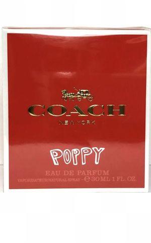 COACH POPPY Eau De Parfum Spray FOR WOMEN 1.0 Oz / 30 ml DISCONTINUED RARE ITEM for Sale in Diamond Bar, CA