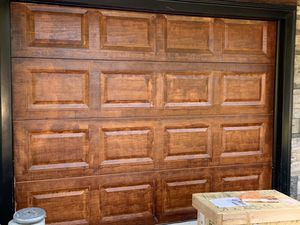 Garage door paint and insulate for sale for Sale in Framingham, MA