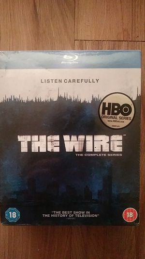 the wire ..the complete series on blu- ray for Sale in Carmichael, CA