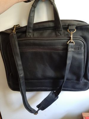 Leather brief case for Sale in Belchertown, MA