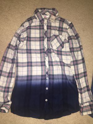 Justice girls size 18 button up for Sale in Fairfax, VA