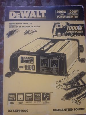 POWER INVERTER 1000 WATTS for Sale in Compton, CA