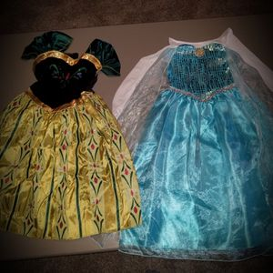 Frozen costumes for Sale in Mansfield, TX