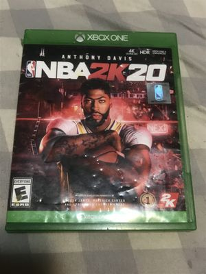 NBA 2K20 Xbox One for Sale in Denver, CO