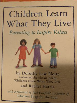 Book: Children learn what they live (Parenting to inspire values) for Sale in Woodinville, WA
