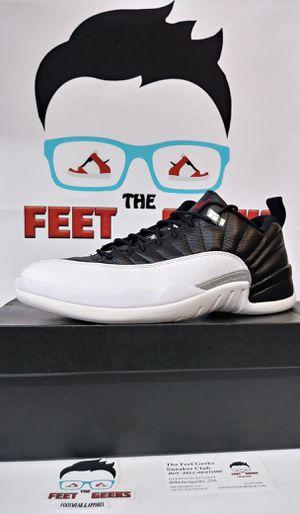 AIR JORDAN 12 RETRO PLAYOFFS LOW MENS SHOES SIZE 10 WITH OG BOX $140 for Sale in Cleveland, OH