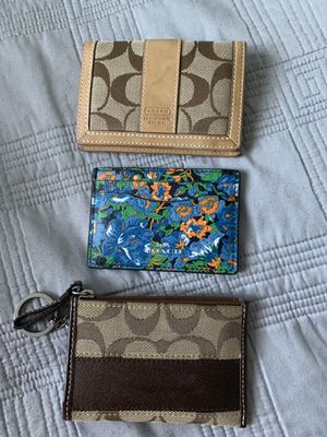 Coach Wallets for Sale in Chicago, IL