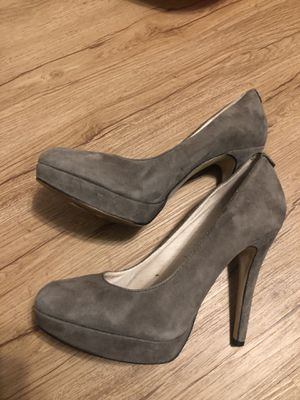 Michael Kors Grey Suede Shoes / Pumps for Sale in Matawan, NJ