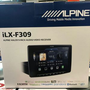 Alpine iLX-F309 9 in touchscreen stereo HDMI ready! On sale today message us for the best deals in LA for Sale in Norwalk, CA