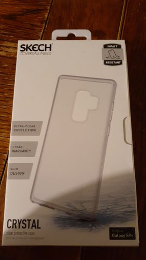 Samsung S9+ clear phone case for Sale in San Diego, CA