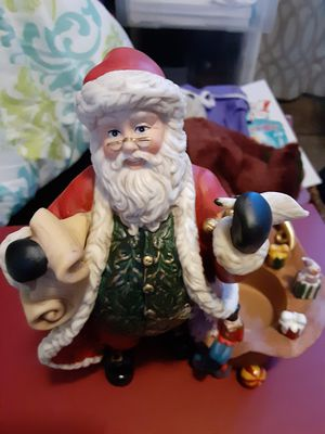 Brand New Party light Santa claus candle holder for Sale in Sunnyvale, CA