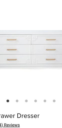 Z Gallerie 6 Drawer Dresser!!350 Can Deliver Free If Local for Sale in Beverly Hills,  CA