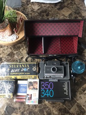 Polaroid Automatic 340 Film Land Camera for Sale in Wethersfield, CT