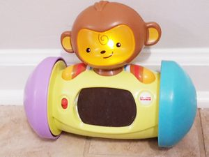 Fisher price push and roll monkey for Sale in Williamsburg, VA