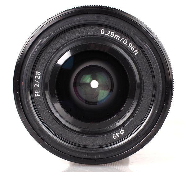 Sony 28mm f2 lens