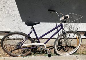 Ross step through cruiser basket bike for Sale in Fremont, CA