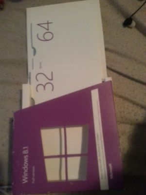Windows 8.1 with product key for Sale in Eugene, OR
