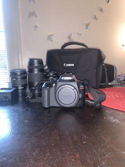 Canon rebel T6 camera & set up for Sale in Boulder,  CO