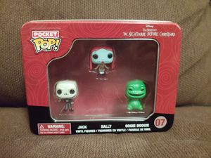 Pocket Pop The Nightmare Before Christmas Mini Set In Tin Sealed! for Sale in Sugarloaf, PA