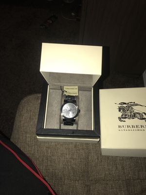 Authentic Burberry watch brand new never worn for Sale in Fort Worth, TX