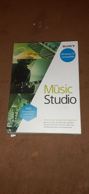 Acid music studio software for Sale in INTRCSION CTY, FL