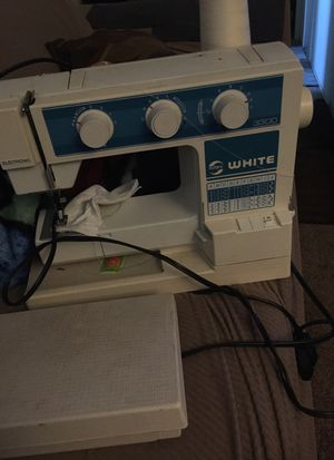 3300 Rotary White sawing machine for Sale in Selma, CA
