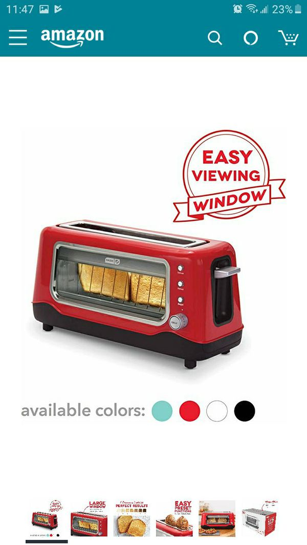 Dish D Clearview toaster