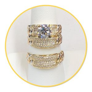 14k Gold Matrimony Rings Set for Sale in Dallas, TX
