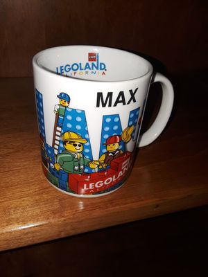 """"""" Max""""Legoland Personalized Mug for Sale in Los Angeles, CA"""