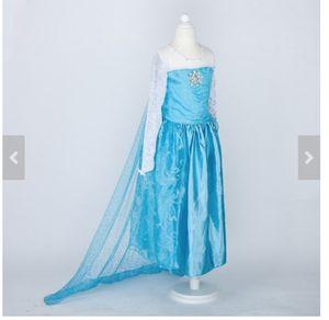 Disney Frozen Elsa Custom Costume Size 8 for Sale in Easton, MA