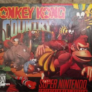 1994 Donkey Kong Country - SNES (Box Only) for Sale in El Macero, CA