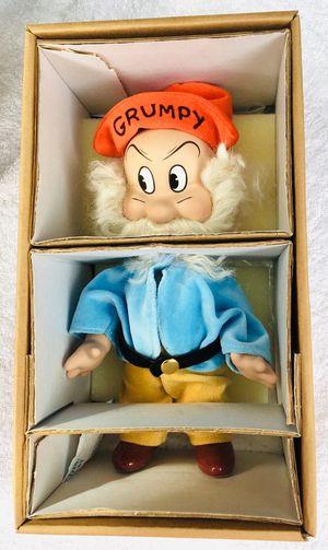 1998 Disney's 75th Anniversary Grumpy by Knickerbocker Toy Co. for Sale in Norwalk, CA