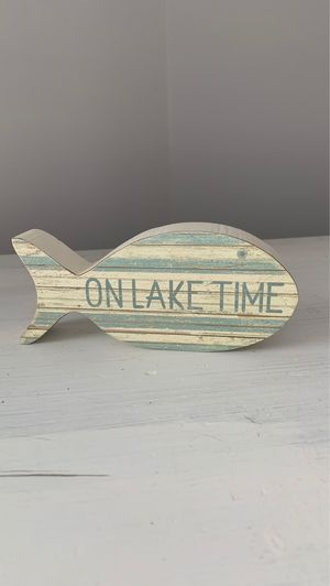 Lake house fish decor for Sale in Walkersville, WV