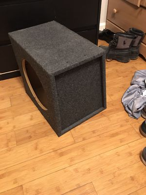 Single 12' subwoofer box for Sale in Antioch, CA
