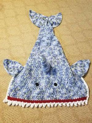 Crochet Shark Snuggie for Sale in Edgewood, WA
