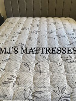 BAMBOO PILLOW TOP MATTRESS 💥 BEST PRICES ☘️ WE DELIVER ✅ for Sale in Los Angeles,  CA