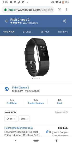Fitbit Charge 2 for Sale in Charlotte, NC