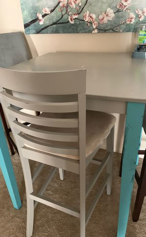 Tall table with chairs for Sale in Normal, IL